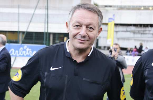 Thierry Braillard, en tenue