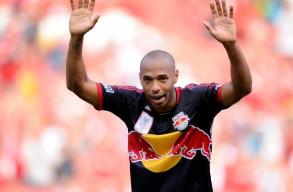 Thierry Henry, attaquant des New York Red Bulls