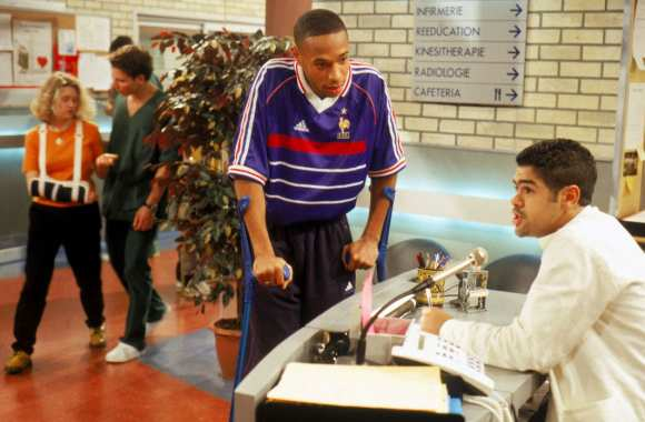 Thierry Henry dans H