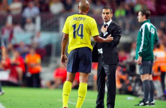 Thierry Henry encense Guardiola