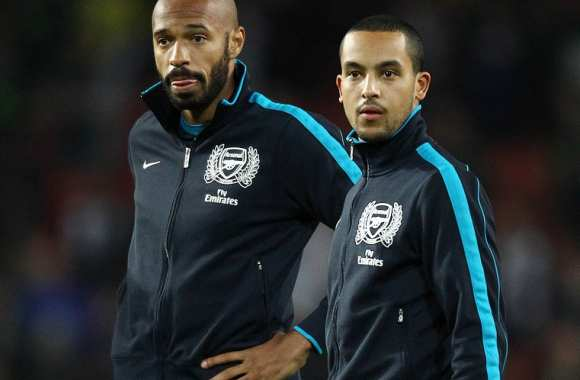 Thierry Henry et Theo Walcott (Arsenal)