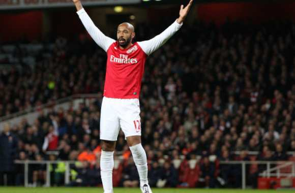 Thierry Henry heureux