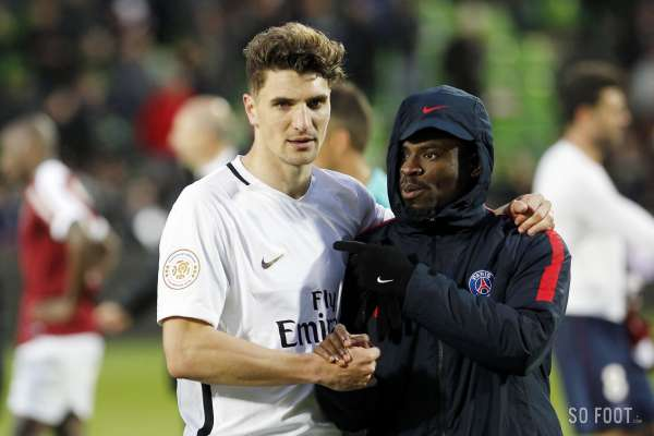 Thomas Meunier, destination Tottenham pour le latéral du Paris Saint-Germain ?