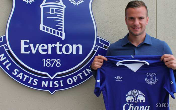 Tom Cleverley, nouvelle recrue d'Everton