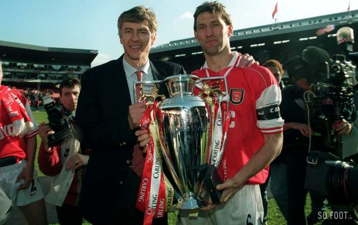 Tony Adams et un fan