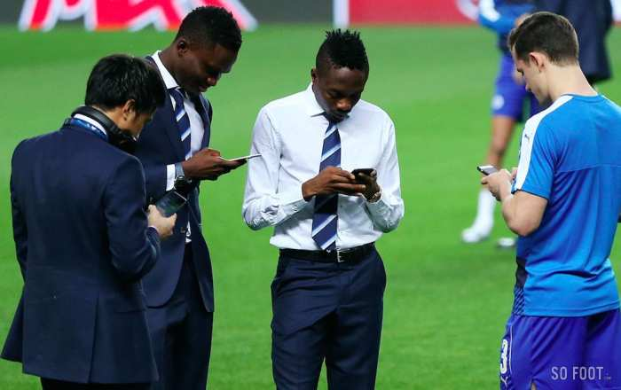 Top 10 : Foot et SMS