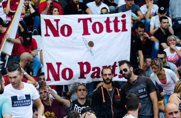 Totti party.