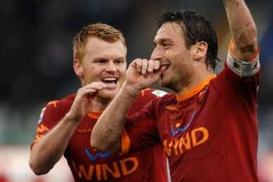 Totti réécrit son derby