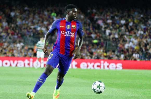 Umtiti contre le Celtitic
