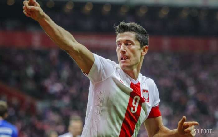 Un faux Robert Lewandowski
