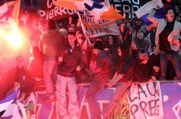 Une manifestation nationale d'ultras à Montpellier