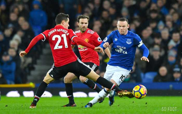 United couche Everton