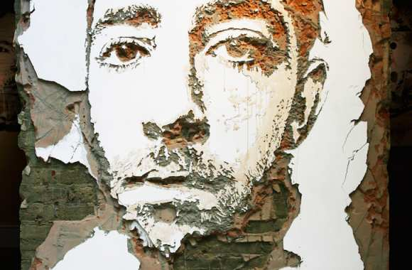 VHILS, Scratching the Surface project, 2010, courtesy galerie Magda Danysz