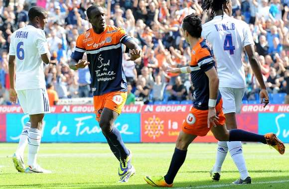 Victor Hugo Montano (Montpellier) buteur