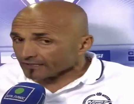Video : Spalletti furax