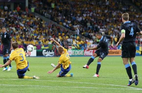 Walcott incertain contre l'Ukraine