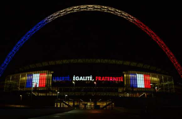 Wembley aux couleurs de la France