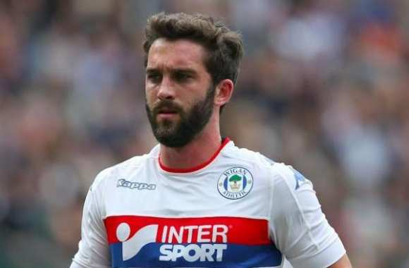 Will Grigg avec Wigan