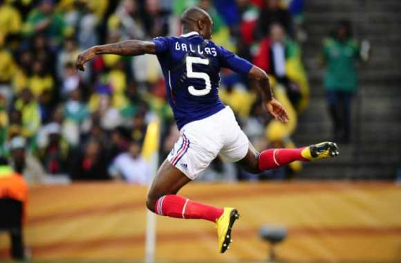 William Gallas, en figure libre