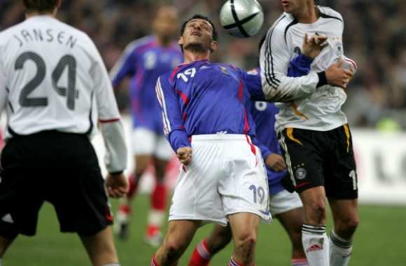 Willy Sagnol contre Michael Ballack