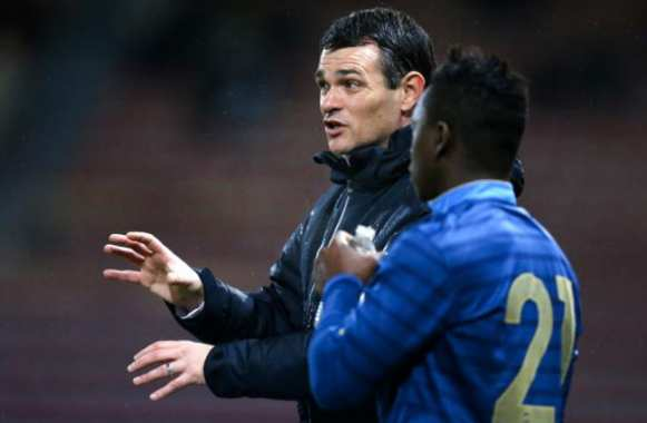 Willy Sagnol, en coach des Espoirs