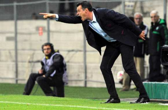 Willy Sagnol, qui montre du doigt