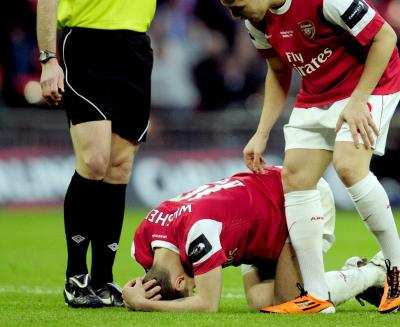 Wilshere out pendant six mois