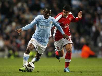 Wright-Phillips suivi par Wenger
