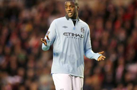 Yaya Touré, auteur du 2e but de City.