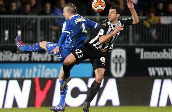 Yohan Eudeline (Angers) face à Stephane Darbion (Troyes)