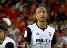Zaza reprend le chant des supporters valenciens