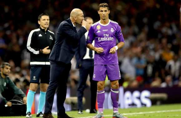 Zidane : « J'ai de la chance de faire partie de ce grand club »