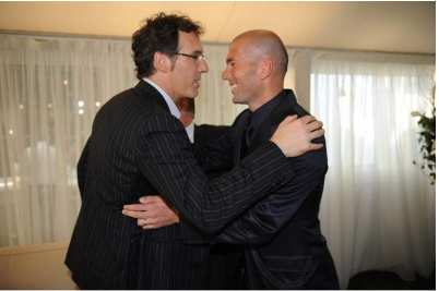 Zidane place Laurent Blanc