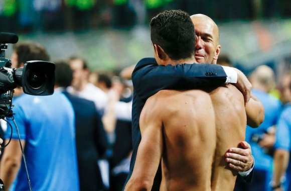 Zidane donne son favori pour le prochain Ballon d'Or — Real Madrid