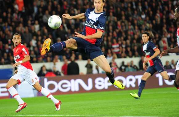 Zlatan in the air