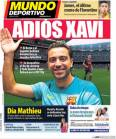 Photo : Xavi en route vers New York