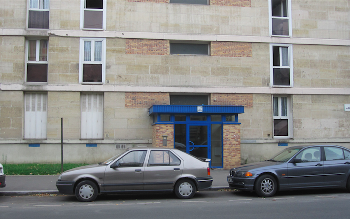 House of the Algerian number 26, located in Sarcelles, France