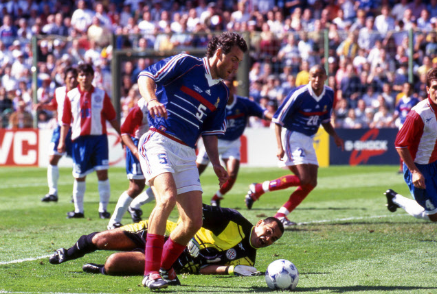 Les dix dates de laurent blanc france - Date coupe du monde 1998 ...
